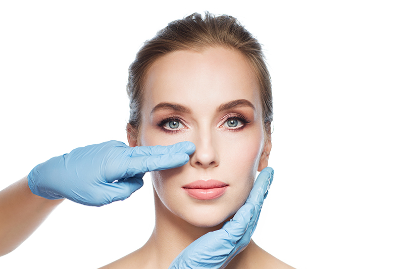 How is the rhinoplasty performed?
